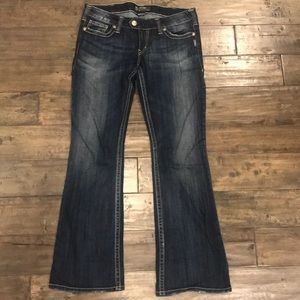 Silver Jeans Co. Tuesday cut jeans. Women's 32x33